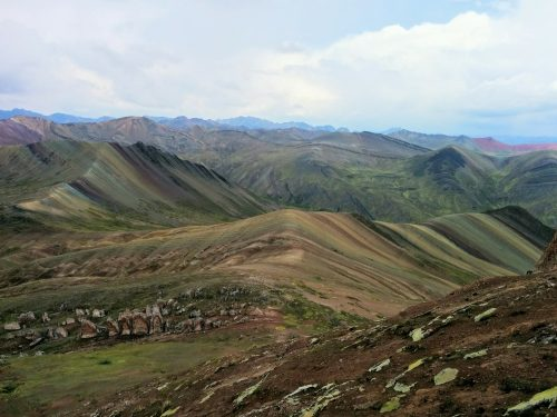 Rainbow Mountain, Palcoyo, Ausangate, Cusco, Peru